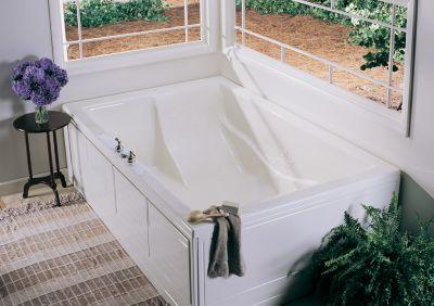 Banera del Sol Rectangular Drop-In Soaker Tub