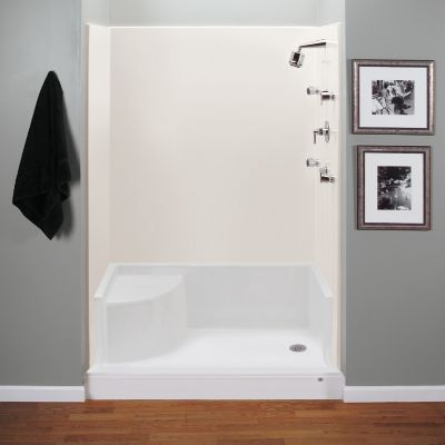 60 Quot X 42 Quot Seated Shower Base With End Drain Directbuy Inc
