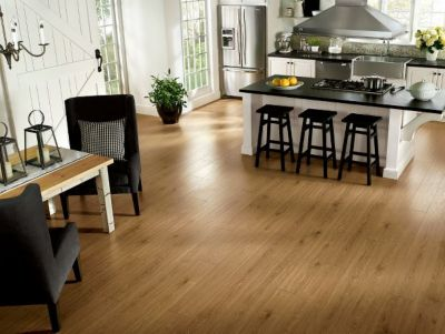 Commercial Handsculpted Laminate Flooring