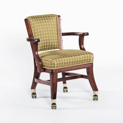 Club Chair with Casters
