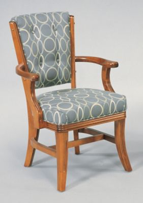 Maple High Back Dining Chair