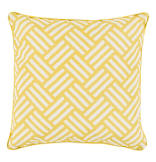 Basketweave Pillow in Gold