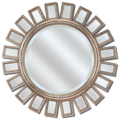 Round Metro Silver, Decorative Mirror