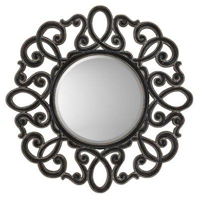 Round Silver/Black