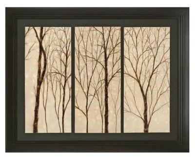 Graceful Trees Framed Oil Wall Art