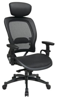 Professional Breathable Mesh Black Chair