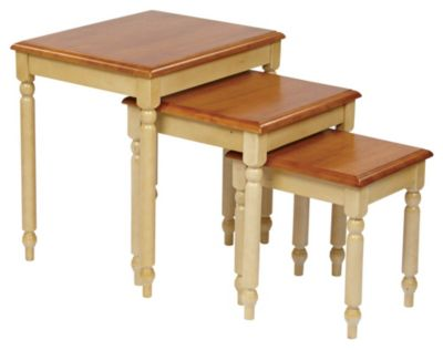 OSP® Designs Country Cottage 3-Piece Nesting Table Set