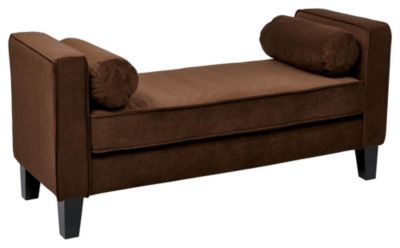 Ave • Six Curves Bench - Chocolate Velvet