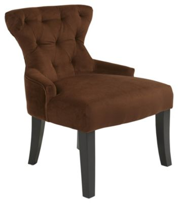 Ave • Six Curves Hourglass Chair - Chocolate Velvet
