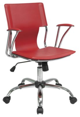 Work Smart™ Dorado Office Chair with Fixed Padded Arms