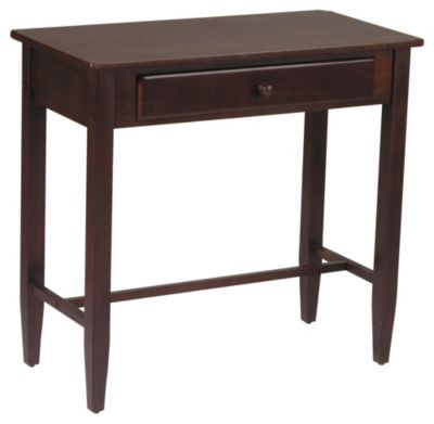 OSP® Designs Espresso Foyer Table