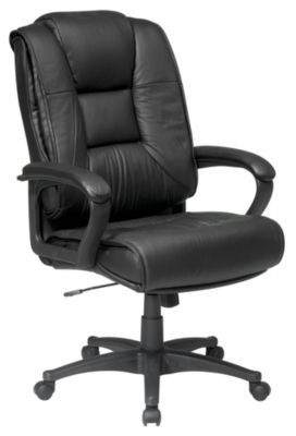 Executive High Back Black Glove Soft Leather Chair