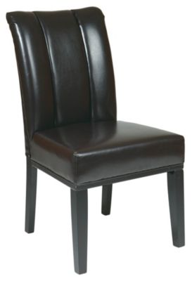 Bonded Leather Parsons Chair