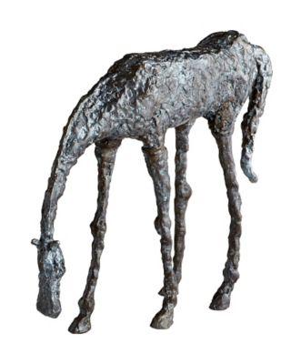 Grazing Horse Sculpture
