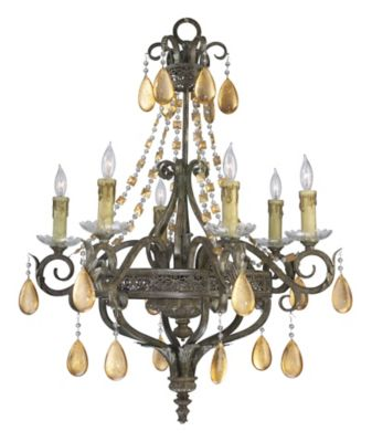 Dorato 6-Light Chandelier