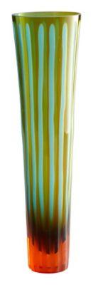 Striped Large Vase
