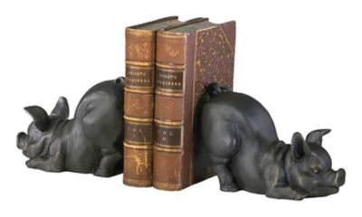 Piggy Bookends-Set of 2