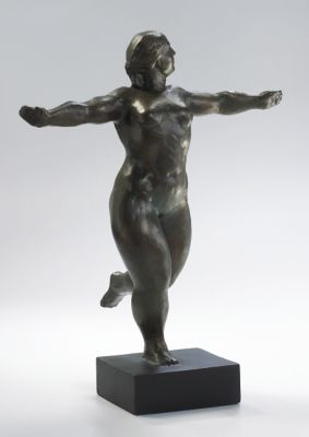 Dancing Lady Sculpture