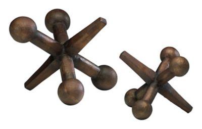 Jacks Sculpture-Set of 2