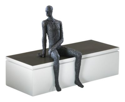 Posing Man Shelf Decor