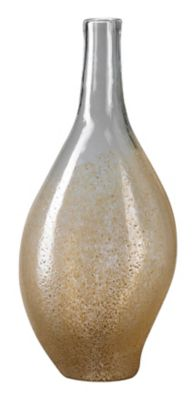 Mocha Dipped Large Vase