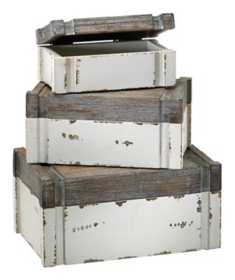 Alder Boxes-Set of 3
