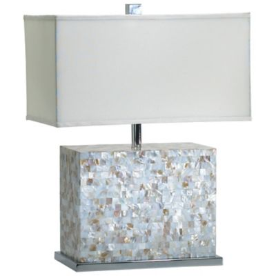 Shell TileTable Lamp