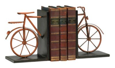 Bicycle Bookends-Set of 2