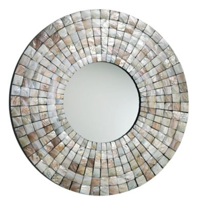 Mosaic Shell Mirror