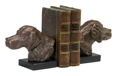 Hound Dog Bookends-Set of 2