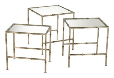 Bamboo Nesting Tables-Set of 3