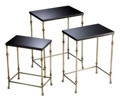 Sanders Nesting Tables-Set of 3