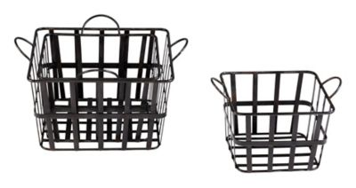 Grocery Basket Containers-Set of 3
