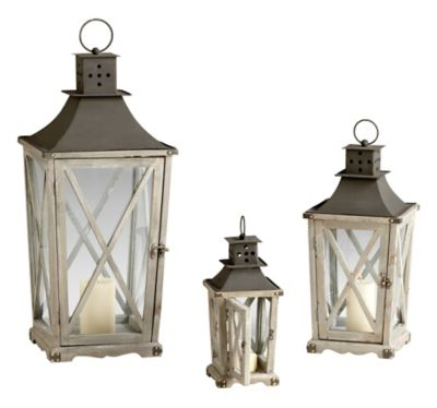 Cornwall Lanterns-Set of 3