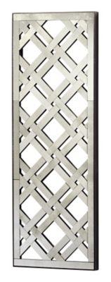 Rectangular Mirrored Wall Decoration