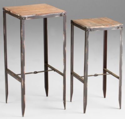 Camelback Nesting Tables-Set of 2