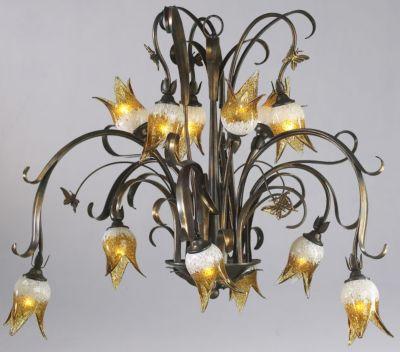 Papillion 12-Lamp Chandelier