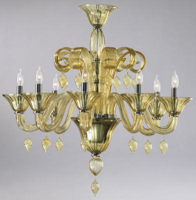 Treviso 8-Lamp Chandelier