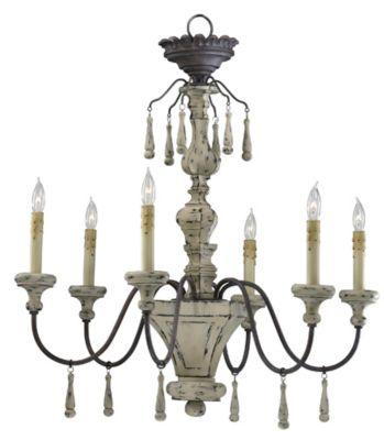 Provence 6-Lamp Chandelier