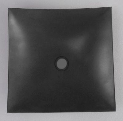 Mobius Square Concave Stone Vessel
