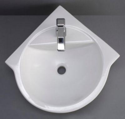 Porto Corner-Round Ceramic Vessel