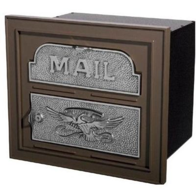 Classic Faceplate with Aluminum Storage Can - Bronze & Satin Nickel Accents