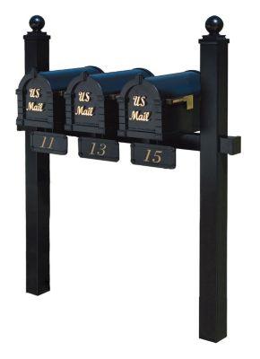 Keystone Series® Triple-Mount Post Set