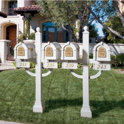 Keystone Series® Quad Mount Post Set
