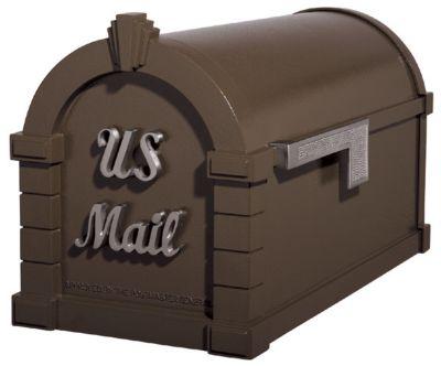 Signature Keystone Series® Mailbox - Bronze with Satin Nickel