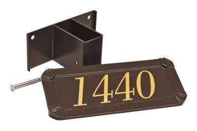 Keystone Series® Standard Post Address Plaque