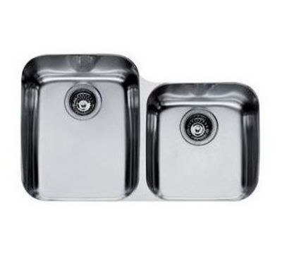 Artisan™ Stainless Undermount Double-Bowl Kitchen Sink