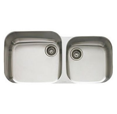 EuroPro™ Stainless Undermount Double-Bowl Kitchen Sink