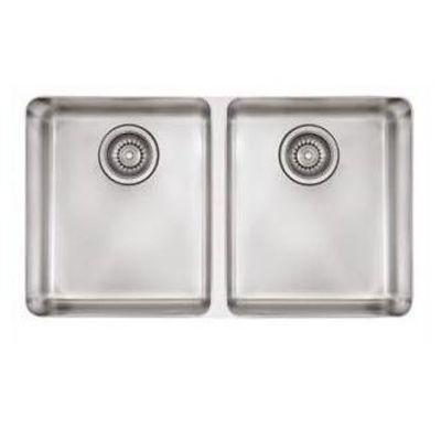Kubus™ Stainless Undermount Double-Bowl Kitchen Sink