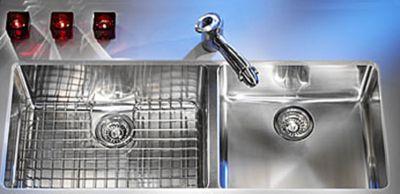 Kubus™ Undermount Double Bowl Kitchen Sink